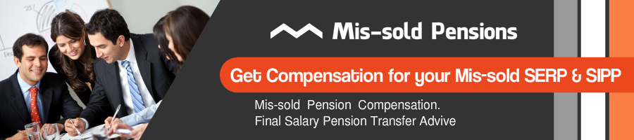 Mis-sold  SERP and SIPP Compensation 2019