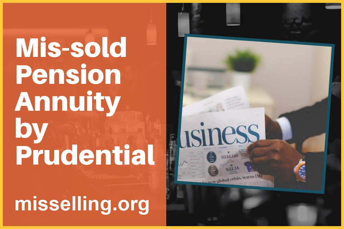 Mis-sold Pension Annuity by Prudential