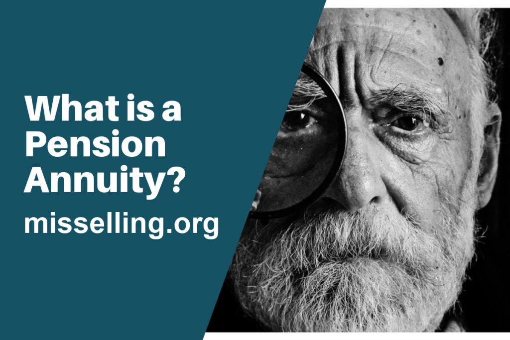 what is a pension annuity