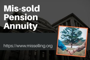 mis-sold pension annuity