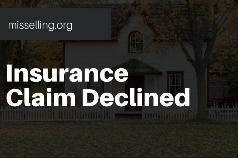 insurance claim declined