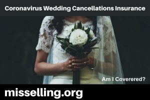 Coronavirus Wedding Cancellations Insurance