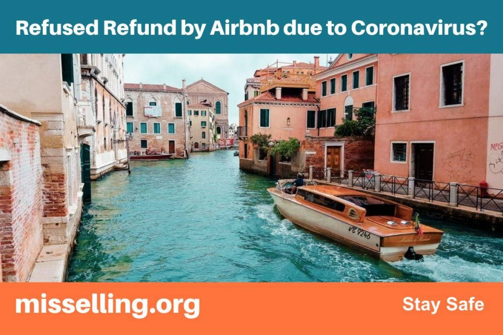Refused Refund by Airbnb due to Coronavirus?