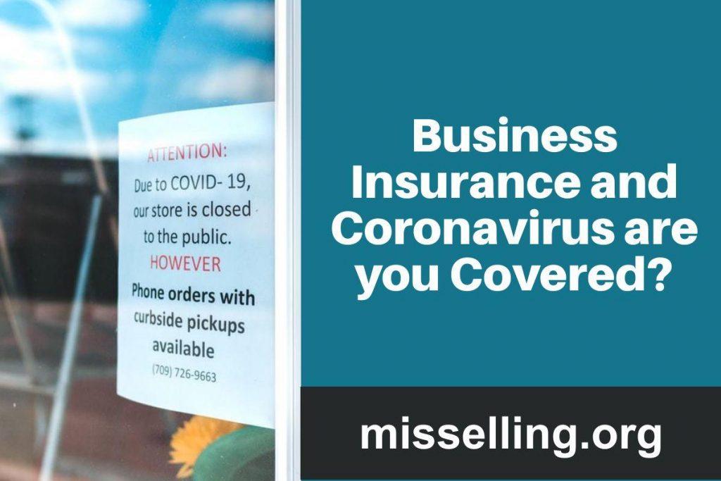 coronavirus business insurance