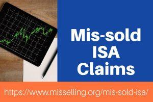 mis-sold ISA